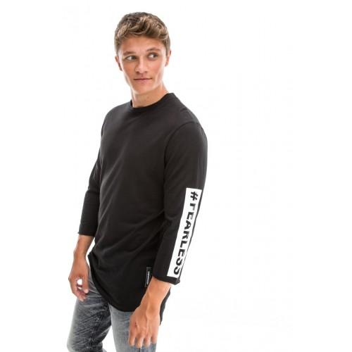 Edward Jeans 18.1.1.01.127 SIREN-PR T-SHIRT Black