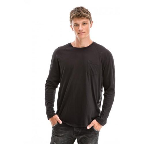 Edward Jeans 18.1.1.01.132 DALEY T-SHIRT Black