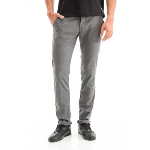 Edward Jeans 18.1.1.04.048 GEMINI-428 PANTS REGULAR FIT/SLIM LEGS Grey