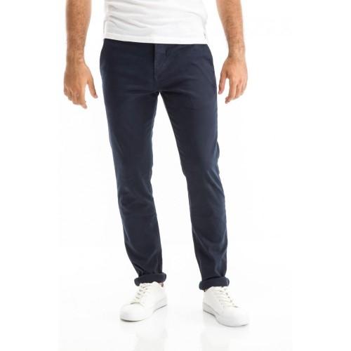 Edward Jeans 18.1.1.04.050 NASIR-W18 PANTS REGULAR FIT/SLIM LEGS Blue