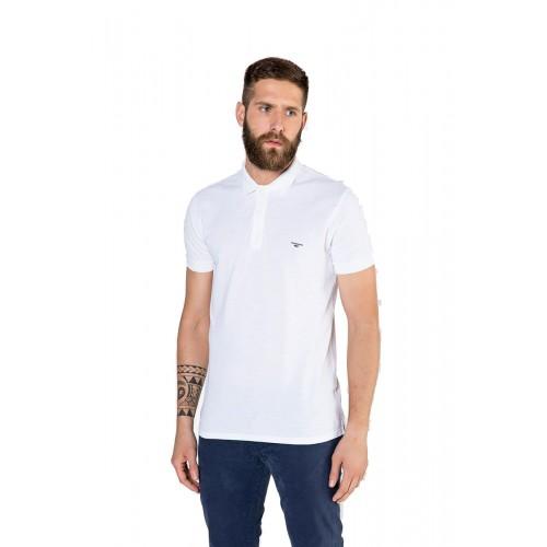 ed0d14a59415 Edward Jeans 19.1.1.01.014-White Dock T-SHIRT