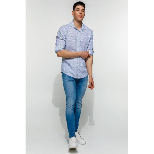 Edward Jeans MYLO-MEX SHIRT MP-N-SRT-S20-010-TYPOS