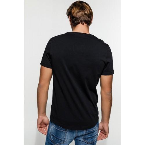 Edward Jeans SPIEL TSHIRT MP-N-TOP-S20-012-BLACK