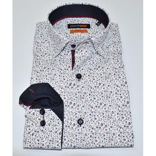 Senior Mens White Shirt F-001