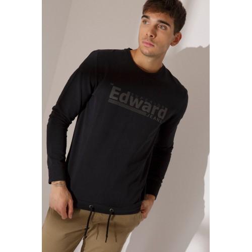 EDWARD SUPRA-F SWEATSHIRT 19.1.1.93.111-BLACK